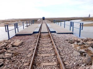 EÜ Hilfsbrücke auf Wangerooge