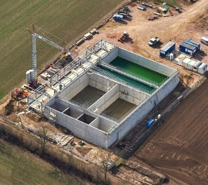 Neubau Anlage Abwasserbehandlung