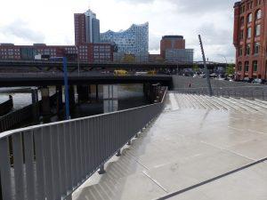 Hochwasser-Schutzanlage Schaartor