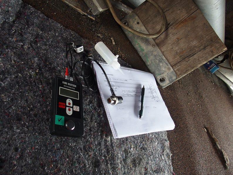 Messung und Dokumentation von Bauwerksschäden