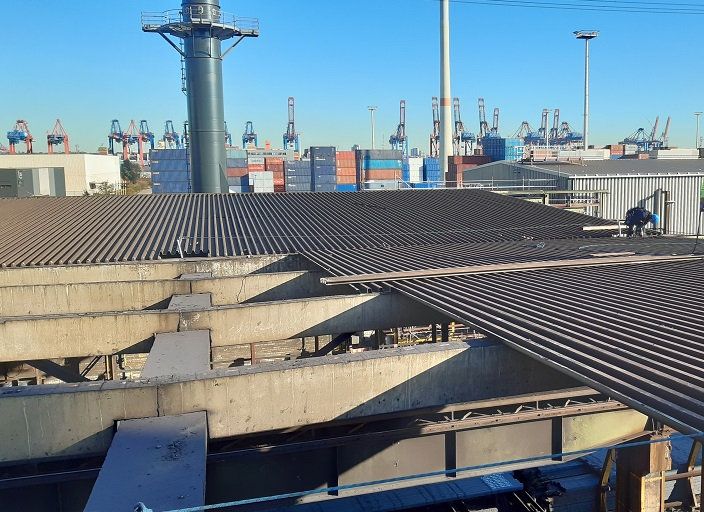 Read more about the article ArcelorMittal Instandsetzung Knüppelhallen