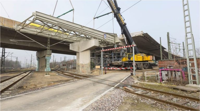Tragwerksplanung Langenfelder Brücke