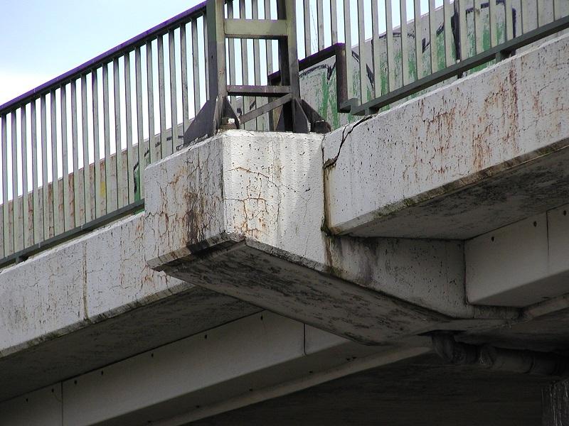 Dokumentation von Brückenschäden