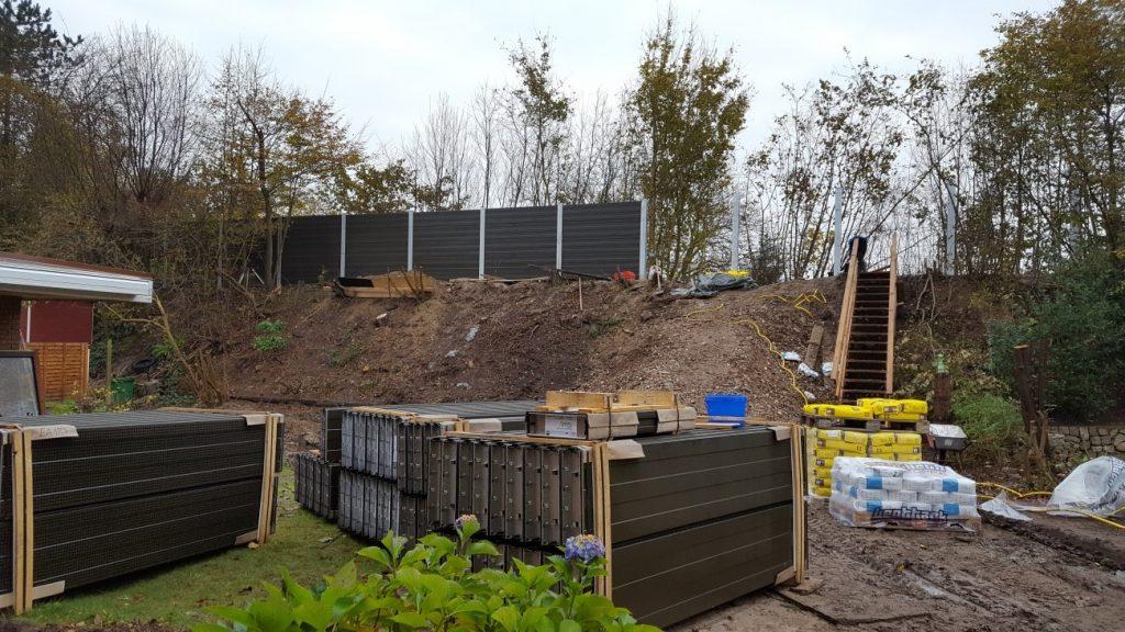 Read more about the article Bau der Lärmschutzwand an der Bahntrasse Bargteheide fertig gestellt